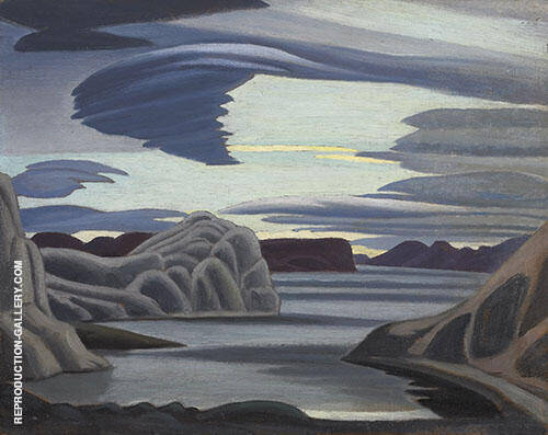Lake Harbour South Shore Baffin Island Morning 1930 By Lawren Harris