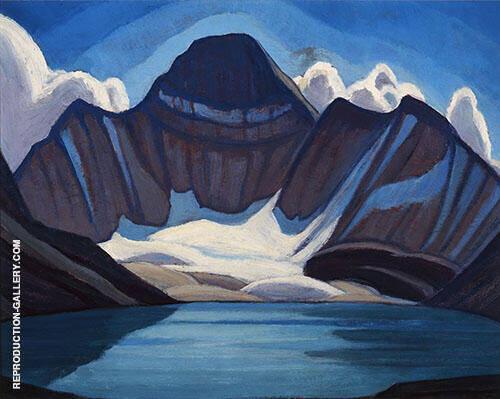 Lake McArthur 1920 By Lawren Harris