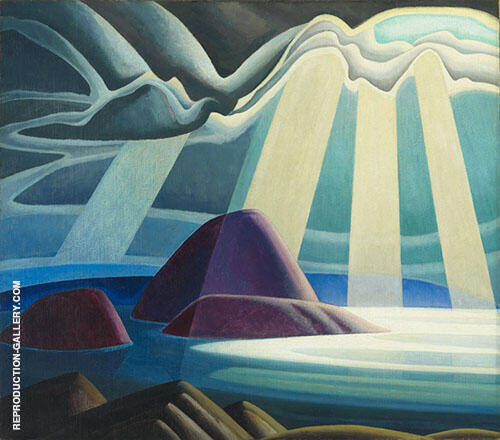Lake Superior 1923 By Lawren Harris