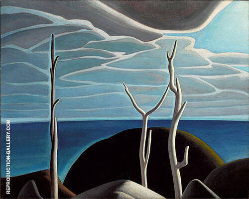 Lake Superior 1924 By Lawren Harris