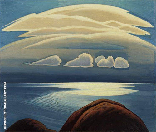 Lake Superior 1928 By Lawren Harris