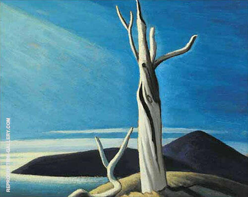 Lake Superior Sketch LXI 1926 By Lawren Harris
