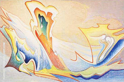 LSH 134 1950 By Lawren Harris