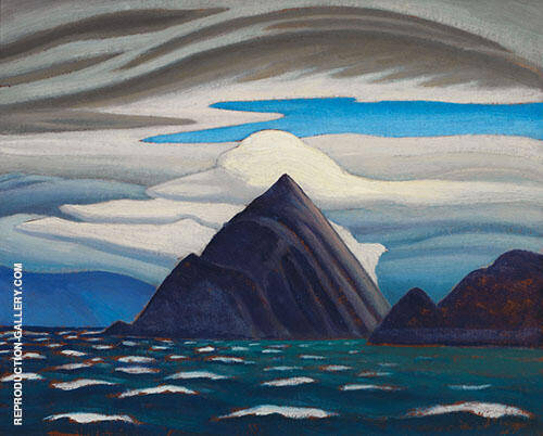 Morin Island Eclipse Sound North Baffin Island 1930 By Lawren Harris