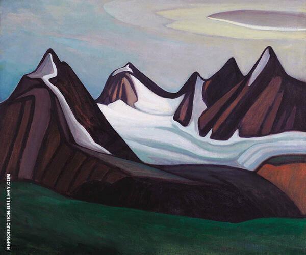 Mountain and Glacier 1930 By Lawren Harris