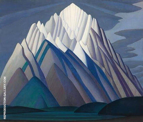Mountain Forms By Lawren Harris