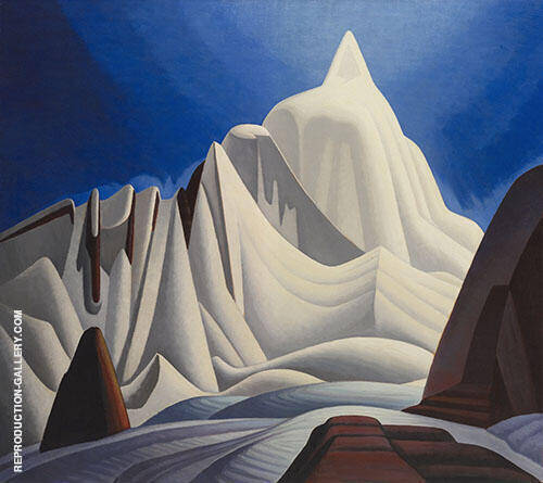 Mountains in Snow 1929 By Lawren Harris
