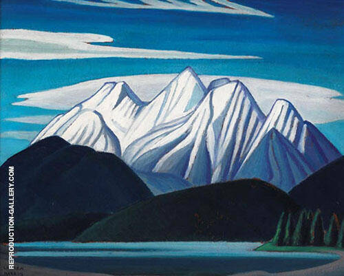 Mountain Sketch LXIII 1928 By Lawren Harris