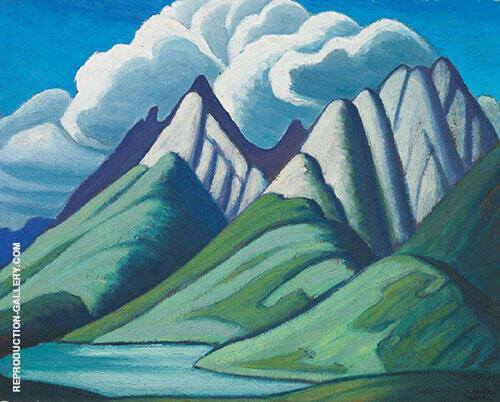Mountain Sketch VII 1928 By Lawren Harris