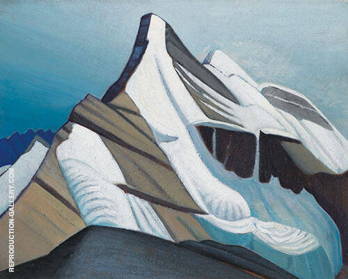 Mountain Sketch XLI 1929 By Lawren Harris