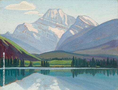 Mount Edith Cavell 1924 By Lawren Harris