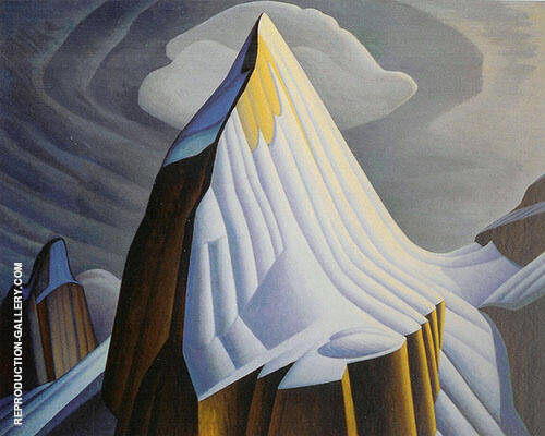 Mount Lefroy 1930 By Lawren Harris