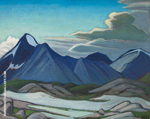 Mount Owen Near Lake O'Hara Mountain 1926 By Lawren Harris