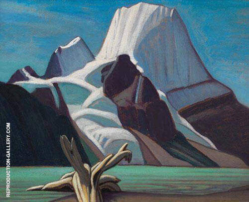 Mount Robson from Berg Lake 1929 By Lawren Harris
