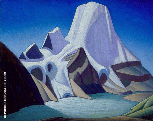 Mount Robson from The Northeast c1929 By Lawren Harris