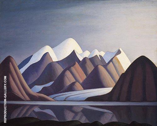 Mount Thule Bylot Island 1930 By Lawren Harris