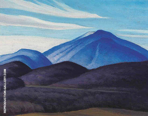 Mt Moosilauke New Hampshire 1934 By Lawren Harris