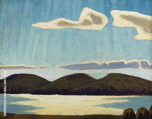 Northern Lake VIII By Lawren Harris