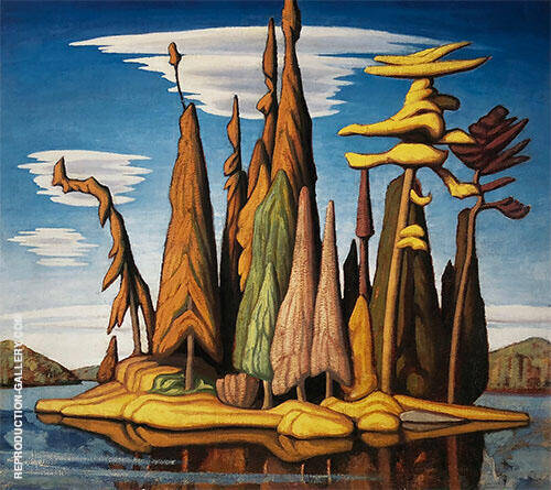 Northern Painting By Lawren Harris