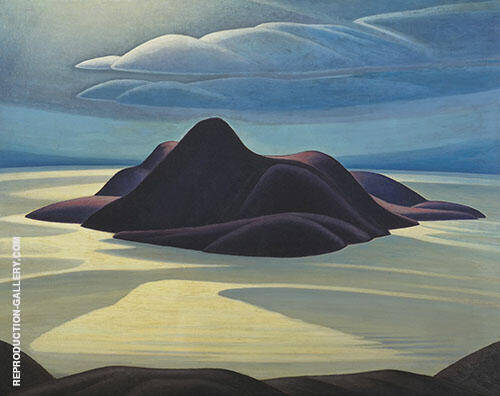 Pic Island 1924 Painting By Lawren Harris - Reproduction Gallery