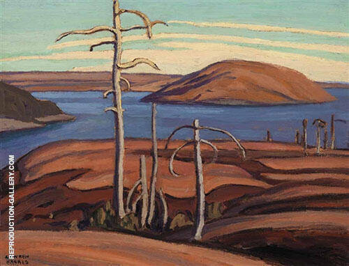 Pic Island Lake Superior 1923 Painting By Lawren Harris