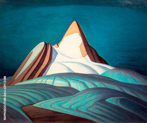 Rocky Mountains 1930 By Lawren Harris