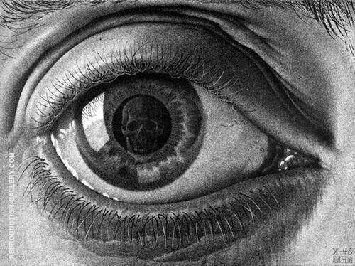 Eye By Maurits Cornelis Escher