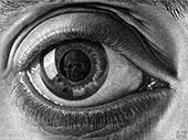 Eye By Maurits Cornelis Escher