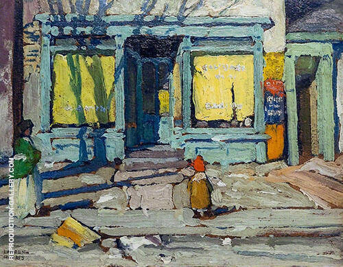 Saturday Morning 1920 Painting By Lawren Harris - Reproduction Gallery