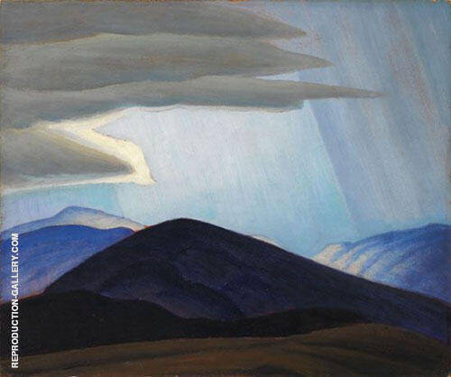 Sketch New Hampshire 1935 Painting By Lawren Harris - Reproduction Gallery