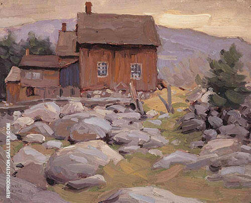 Sketch XI Farmhouse Near Mattawa By Lawren Harris