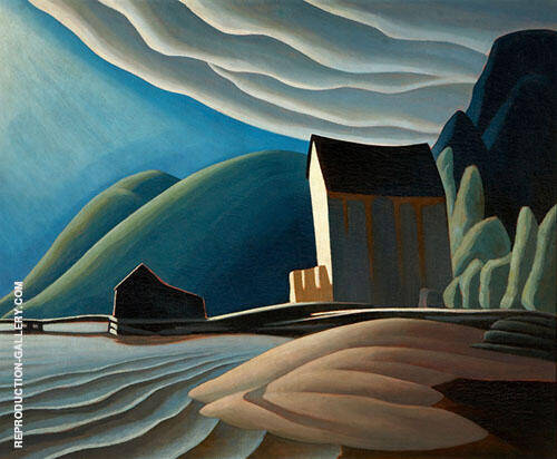 The Idea of North Painting By Lawren Harris - Reproduction Gallery