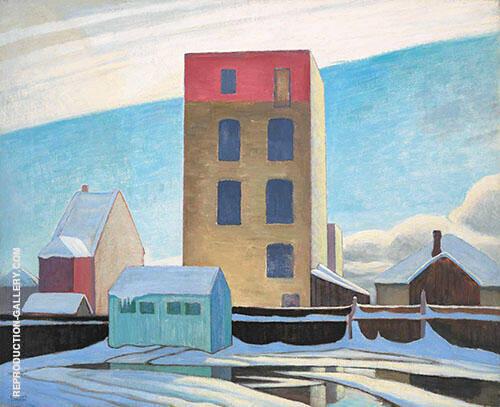 Warehouse no II 1923 By Lawren Harris