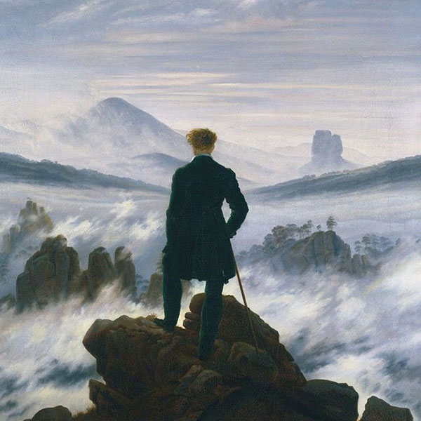 Oil Painting Reproductions of Caspar David Friedrich