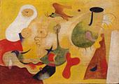 Untitled 1931 By Joan Miro