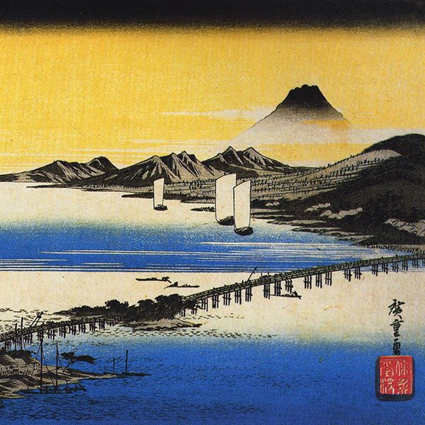 Oil Painting Reproductions of Hiroshige