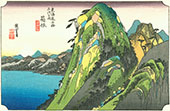 Hakone View of the Lake By Hiroshige
