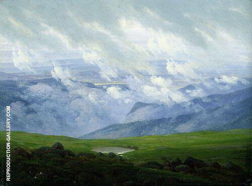 Drifting Clouds 1820 By Caspar David Friedrich