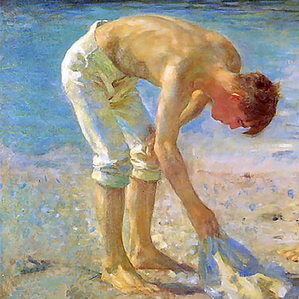 Oil Painting Reproductions of Henry Scott Tuke