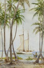 Tobacco Caye British Honduras By Henry Scott Tuke