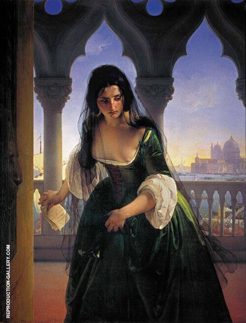 Accusa Segreta 1847 By Francesco Hayez