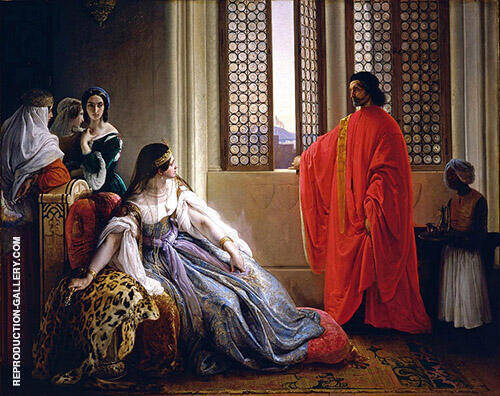 Caterina Cornaro Deposed From The Throne Of Cyprus By Francesco Hayez