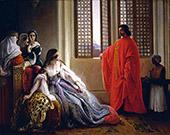 Caterina Cornaro Deposed From The Throne Of Cyprus By Francesco Hayez