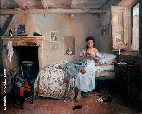 Gerolamo Induno Sadness 1862 By Francesco Hayez