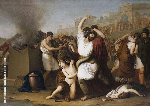 Laocoonte 1812 By Francesco Hayez