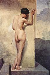 Nude Woman 1859 By Francesco Hayez