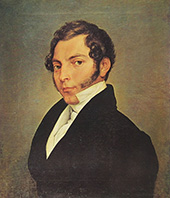 Portrait of Conte Ninni 1823 By Francesco Hayez