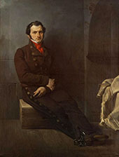 Portrait of Count Arese in Prison 1928 By Francesco Hayez