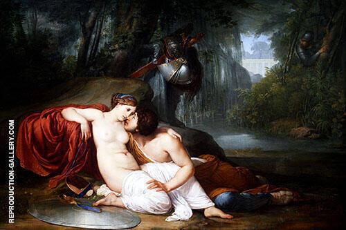 Rinaldo and Armida c1812 Painting By Francesco Hayez