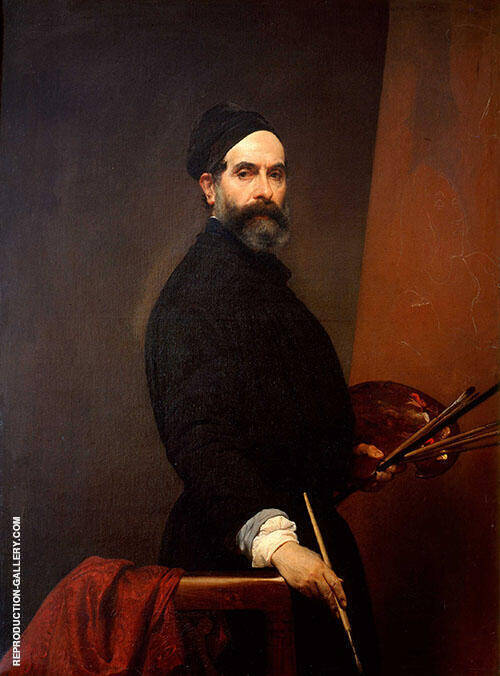 Self Portrait By Francesco Hayez